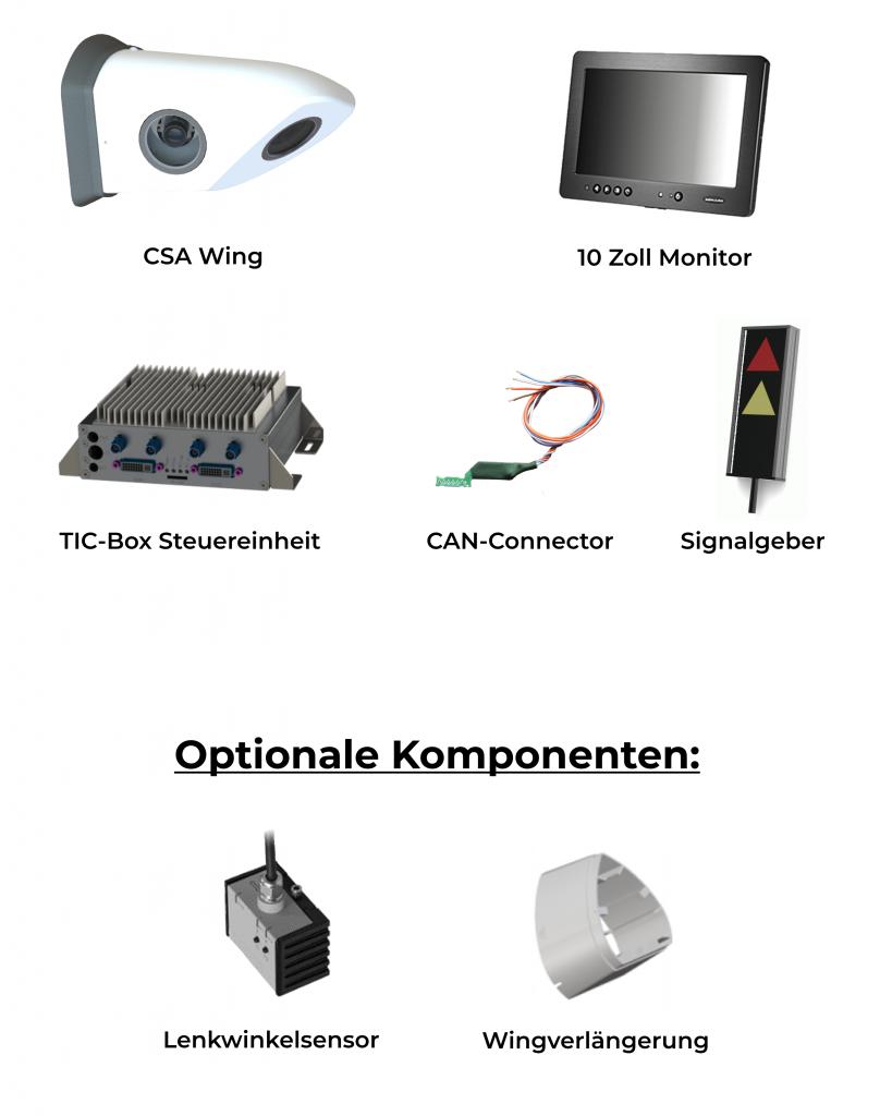 CSA Plus Komponenten